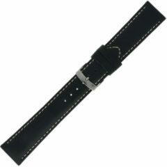 Morelatto Horlogebandje Rodius Zwart 20mm