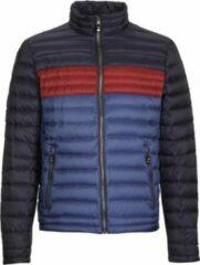 Marineblauwe Killtec Relando - heren dons jas - donker navy - Maat XL