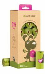 Earth Rated Poepzakjes Lavendel - Hondenpoepzakjes - Groen 21 rol
