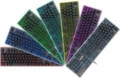 Zwarte Redragon DYAUS 7 Colors Backlit Gaming