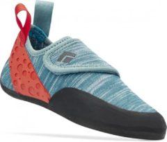 Black Diamond - Kid's Momentum Climbing Shoes - Klimschoenen maat 1, zwart/grijs/rood