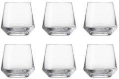 Transparante Schott Zwiesel Pure Whiskyglas klein - 0,31 l - 6 Stuks