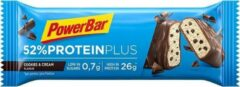 POWERBAR Eiwitreep Protein Plus 52% cookie & cream 50 g