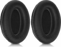 Kwmobile 2x oorkussens voor Bose A20 Aviation Headset koptelefoons - imitatieleer - voor over-ear-koptelefoon - zwart