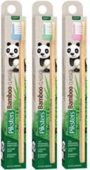 Blauwe Piksters Bamboo Classic Tandenborstel - Zacht