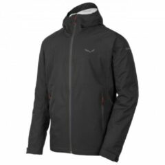 Zwarte SALEWA Puez Aqua 3 Powertex Jas Heren, black out Maat EU 54 | XXL