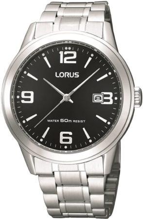 Afbeelding van Zilveren Lorus - RH999BX9 - Herenhorloge - 40 mm - Zilverkleurig