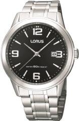 Zilveren Lorus - RH999BX9 - Herenhorloge - 40 mm - Zilverkleurig