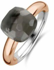 Ti Sento Milano TI SENTO - Milano Ring 12187GB Zilver rose plated Maat 56