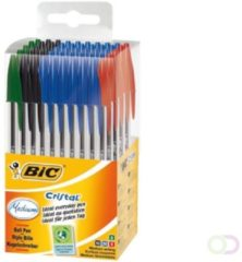 Bruna Balpen Bic Cristal Tubo 50 assorti medium