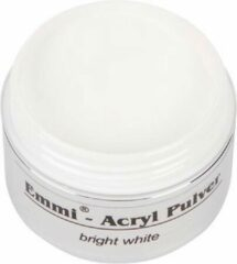Witte Emmi-Nail Acryl-Poeder Bright White 30 gr.