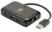 LevelOne USB-0502 - Netzwerkadapter - SuperSpeed USB 3.0 USB-0502