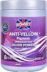 RONNEY No Yellow Masker 1000ml  Anti-Yellow Pigment Mask Silver Power 1000ml