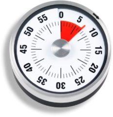 Timer ADE Mechanischer Küchentimer RVS (geborsteld) Mechanisch