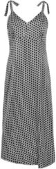 Zwarte MAICAZZ Oliana jurk honey black su20.40.006