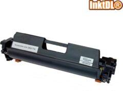 Zwarte INKTDL XL Lasertoner cartridge voor HP 17A - CF 217A | Geschikt voor Laserjet M102A, M102W, M130FP, M130A, M130FN, M130FW, M130NW, M132SFNW, M132SNW