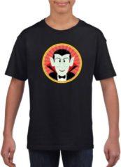 Shoppartners Halloween vampieren t-shirt zwart jongens en meisjes - Halloween kostuum kind XL (158-164)