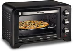 Zwarte Moulinex Optimo OX444810 - Mini oven (vrijstaand)