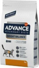 Advance veterinary diet Advance veterinary cat weight balance kattenvoer 3 kg