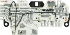 Miele Tastenschalter 6-fach kpl. (mit weiß/orangenen Tastenkappen) für Waschmaschinen 4593320