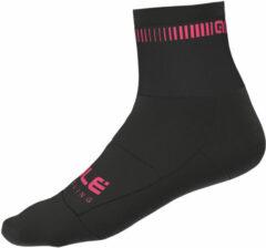 Alé - Logo Q-Skin Socks - Fietssokken maat 36/39, zwart