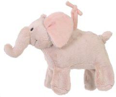 Happy Horse Muziekknuffel Elephant Ely roze - Maat One size