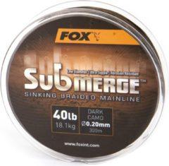 Fox Submerge Braided Mainline - Gevlochten Lijn- 0.16mm - 600m