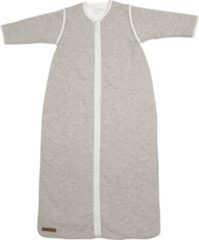 Grijze Little Dutch Babyslaapzak winter 90 cm - pure grey