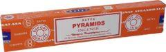 Merkloos / Sans marque Wierookstokjes Satya Pyramide (los pakje van 15 gram)