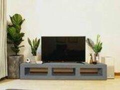 Betonlook TV-Meubel open vakken | Stone | 140x40x40 cm (LxBxH) | Betonlook Fabriek | Beton ciré