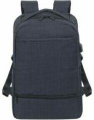 Riva Case RivaCase 8365 - Laptop Rugzak - 17.3 Inch - Extra vak voor 10.1 Inch tablet - Zwart