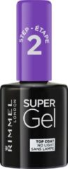 Rimmel London SuperGel Top Coat Nagellak - 00 Transparant