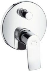 Hansgrohe Metris afbouwdeel voor inbouw badkraan met omstel chroom 31493000