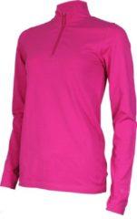 Campri Roll Neck 1/4 Zip Wintersportpully - Maat L - Vrouwen - roze