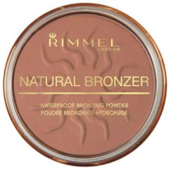 Rimmel London Natural Bronzing Bronzingpoeder - 027 Sun Dance - Watervast