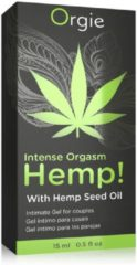 Transparante Intense Orgasm Hemp Gel - 15 ml