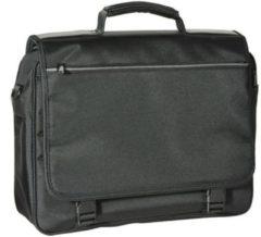 Zwarte Desq 3732 - Laptop messenger tas.