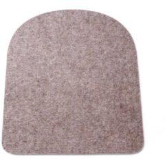 Hey-Sign seatpad voor Tolix stoel - 5 mm - gaatjes - Antislip - Lichtbruin 09
