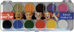 Paarse C.Kreul Kreul Schminkset - Kinder Make Up - 12 kleuren + penselen