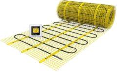 Gele Magnum Millimat elektrische vloerverwarming 300 watt, 2,0 m2 met klokthermostaat 200405