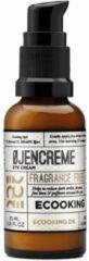 Ecooking Eye Cream - Oogcrème Parfumvrij - Vermindert Donkere Kringen, Fijne Lijntjes en Wallen - Vegan en Vrij van Parabenen - Pompflacon 30 ml