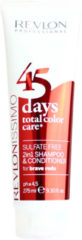 Revlon Professional Revlon Revlonissimo 45 Days Conditioning Shampoo Brave Reds 275ml