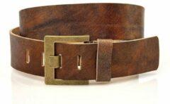 JV Belts Leer Unisex Broekriem Bruin 100 cm