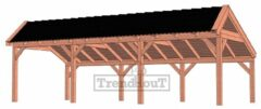 Van Kooten Tuin en Buitenleven Kapschuur De Stee 900x425 cm