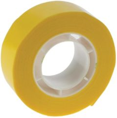 APLI 12274, Yellow, 19 mm x 33 m (12274)