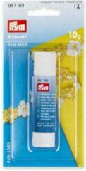 Transparante Prym tijdelijke kleefstift - 10 g - art. 987180 - uitwasbaar - uitwasbare lijmstift