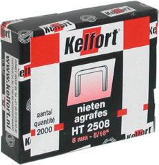 Kelfort niet RVS 8 mm 5/16 inch doos 2000 stuks HT5008E
