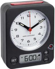 Zwarte TFA Dostmann TFA Combi-Radiocontrolled Wekker 60.1511.01.05