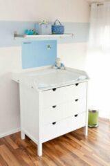 HygieneShopBasics Luiertafel verwarming 200W infrarood paneel - Blauw of Roze - Iedere RAL-kleur - Naam gravure