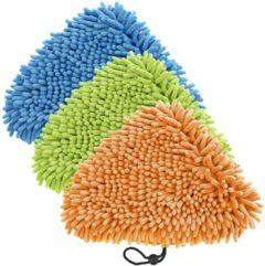 3er Set Korallentücher blau, grün, orange